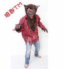 Werewolf Halloween Costume Aliexpress Buy Clothing Halloween Costumes Werewolves