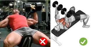 Bench Press No Spotter Dumbbell Bench Press Technique U0026 Common Mistakes Fitness And Power