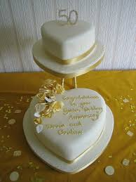 50th wedding anniversary cakes 50th wedding anniversary cake toppers to adorn the