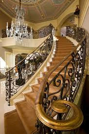 Banister Staircase Staircase Railing Ideas Entry Modern With Black Stairs Pendant
