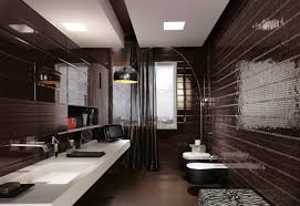 masculine bathroom ideas black mosaic tiles masculine bathroom ideas image photos pictures