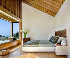 excellent small bedroom decorating ideas to make it seems larger beautiful beach house small slooping ceiling master bedroom with elegant bay window seat interior design adorned