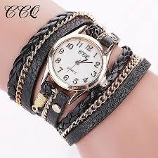 ladies leather bracelet watches images Buy ccq lady leather wrist watch ccq ccq luxury brand vintage jpg