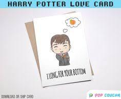 Harry Potter Congratulations Card Cheeky Eggplant Emoji Greeting Card Couple Love Anniversary
