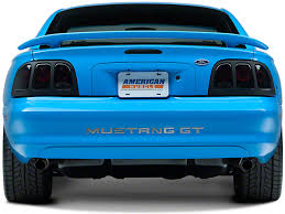 sn95 mustang tail lights axial mustang black euro tail lights 49127 96 98 all free shipping