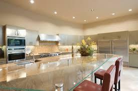 glass top kitchen island 124 luxury kitchen designs part 2