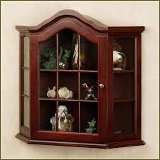Corner Display Cabinet With Glass Doors Curio Cabinet Short Corner Curio Cabinets With Glass Doors