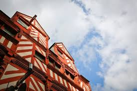 bureau de change rue de rennes half timbered architecture the rennes look rennes tourist office