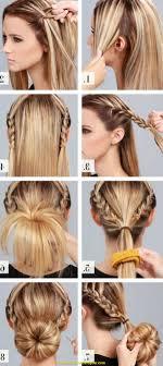 Hochsteckfrisurenen Mittellange Haar Selber Machen by 100 Hochsteckfrisurenen Mittellange Haar Selber Machen