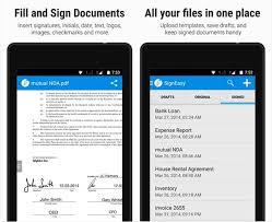 membuat tanda tangan digital gratis signeasy aplikasi tanda tangan digital mudah dan praktis smeaker
