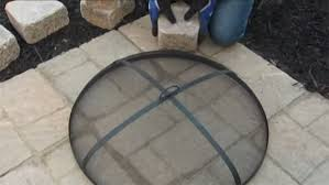 Firepit Screen Diy Build A Pit In Your Backyard Reinhart