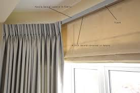 Hanging Curtains From Ceiling by Ceiling Mounted Curtain Rail For Bay Window Curtain Menzilperde Net