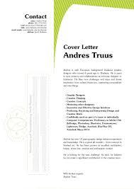 andres truus graphic designer letter resume 2014