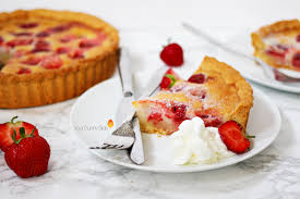 strawberry clafoutis your sunny side up