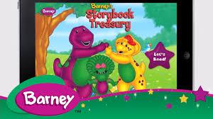 barney book app barney u0027s storybook treasury