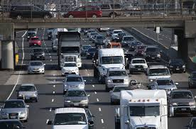 la freeway named top traffic spot for thanksgiving weekend
