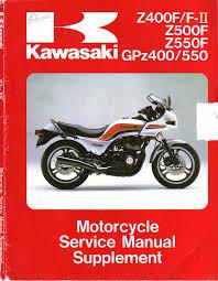 kawasaki gpz 400 550 u0026 z 400 f fii z 500 550 f u002783 a u002785
