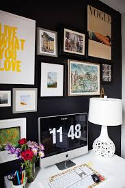 travaux de bureau don t be afraid of the 12 black walls done right terre