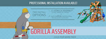 Home Depot Playset Installation Gorilla Playsets Buy Swing Sets And Swing Set Accessories