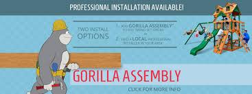 Gorilla Playsets Catalina Wooden Swing Set Gorilla Playsets Buy Swing Sets And Swing Set Accessories