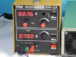 weir 4000 0 30v 0 2a bench power supply
