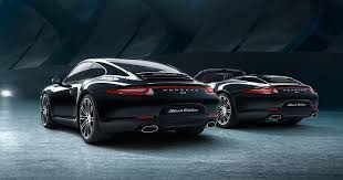 porsche boxster black edition object of desire the porsche black edition models