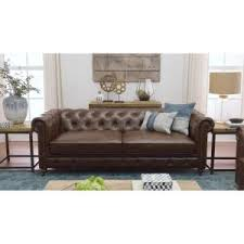 brown leather sofa and loveseat home decorators collection gordon brown leather sofa 0849400760