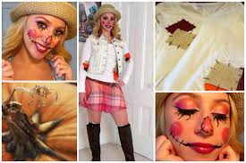 Diy Womens Halloween Costume Ideas Diy Sweet Scarecrow Halloween Costume Youtube