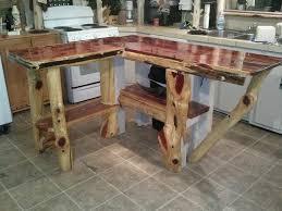 shaped kitchen island made of cedar tree designs pinterest ship lap islands and annie sloan chalk paint on pinterest cedar