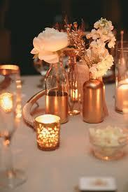 Copper Flower Vase 42 Chic Copper And White Wedding Ideas Weddingomania