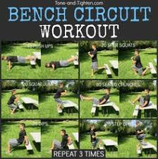 bench routines an easy workout utilising a park bench or a bench anywhere great