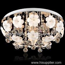 glass flower light contemporary lighting manufacturers