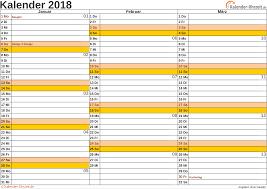 Ferienkalender 2018 Bw Kalender 2018 Mit Feiertagen
