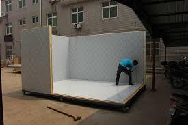 panneau chambre froide prix prix congélateur en aluminium isolation en polyuréthane pu