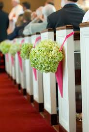 church pew decorations creative church wedding decorations easyday