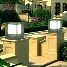 l post solar lights outdoor solar powered outdoor l post
