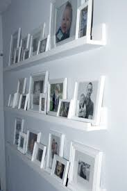 Picture Frame Wall by Best 25 Hanging Pictures Without Nails Ideas On Pinterest