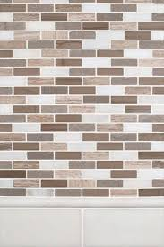 arctic storm brick pattern backsplash tile msi