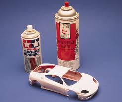 Model Spray Paints - great paint from spray cans part i scale auto magazine