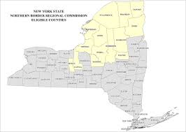 County Map Of New York State by Nysdos Division Of Local Government Services
