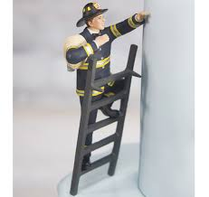 firefighter cake toppers to the rescue fireman groom figurine fireman cake topper