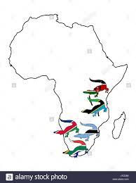 Kenya Africa Flag Africa Kenya Crocodile Namibia South Africa Flag Card Tanzania