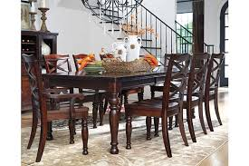ashley furniture table and chairs impressive porter dining room table ashley furniture homestore on