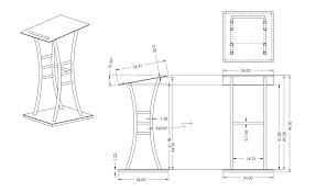standard podium dimensions brucall com
