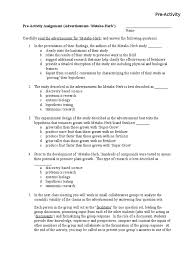 pre activity 1 statistical hypothesis testing hypothesis