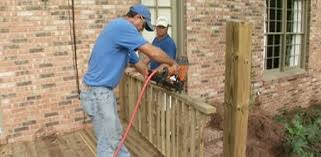 How To Install A Banister How To Build Wood Deck Handrails Today U0027s Homeowner