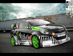 opel corsa 2009 opel corsa ken block edition by praveen897 on deviantart