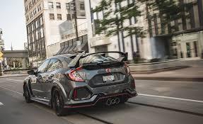 honda civic type r fuel consumption 2017 honda civic type r in depth model review car and driver