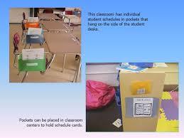 Individual Student Desks 1 Individual Schedules U201ca Routine To Teach Flexibility U201d Visuals To