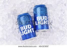 Bud Light Aluminum Bottle Irvine California August 25 2016 Bud Stock Photo 484323697